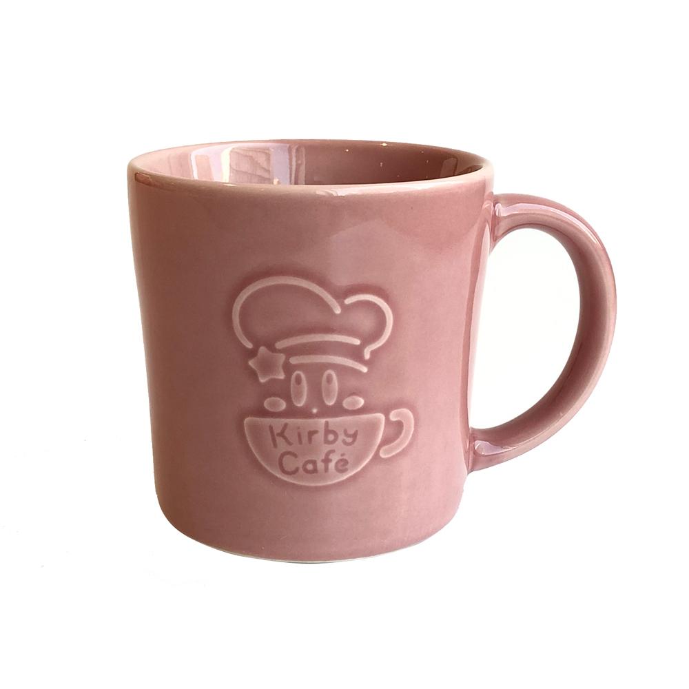 デコロゴマグカップ ストレート ピンク