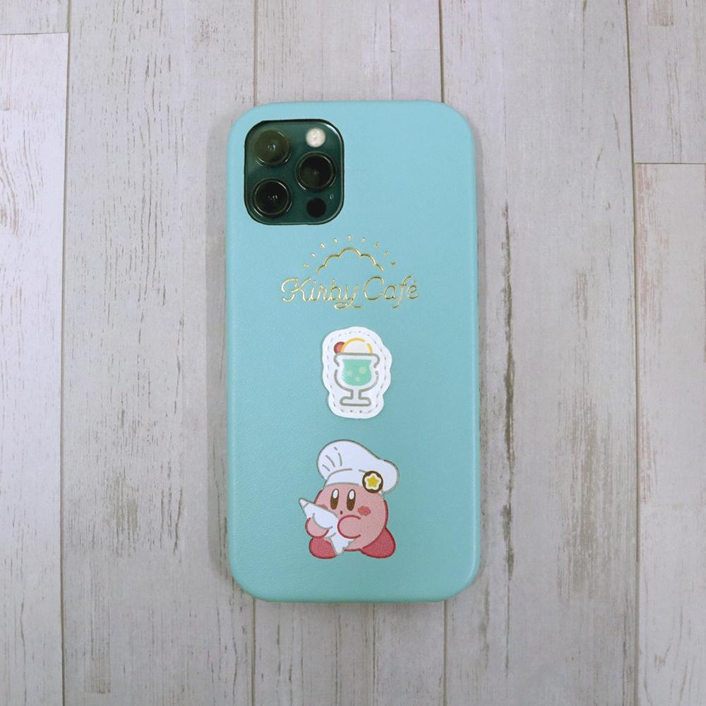 スマホケース カービィとぷくっとメロンソーダ iPhone 12/12 Pro