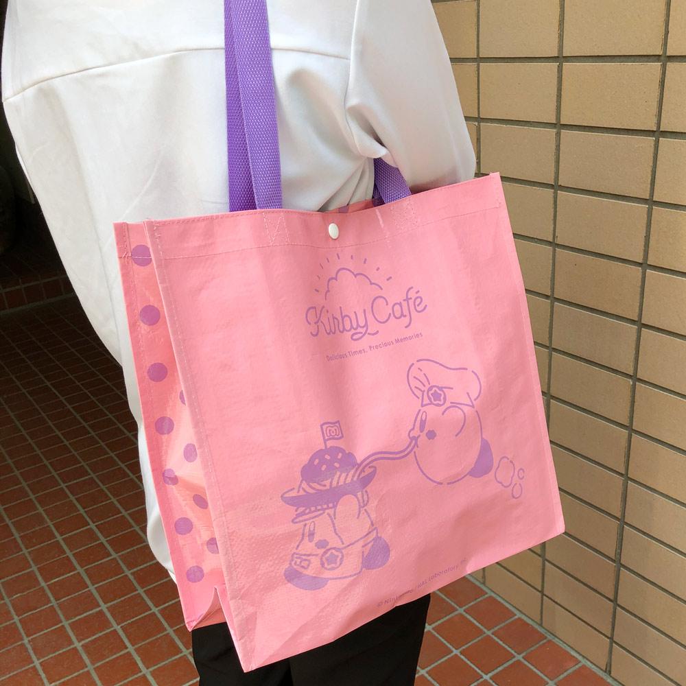 おかいものバッグ ピンク