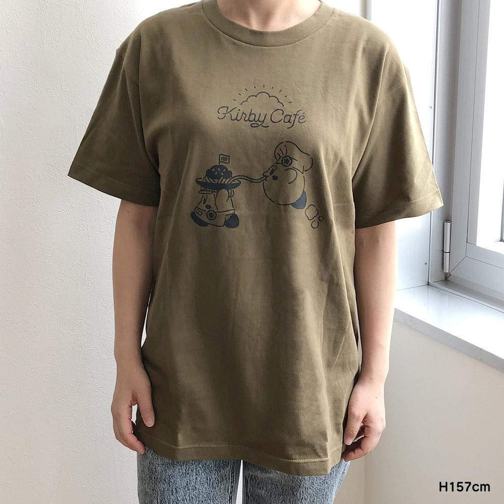 Tシャツ パスタ オリーブ Mサイズ