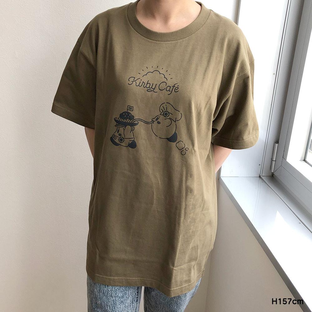Tシャツ パスタ オリーブ Lサイズ