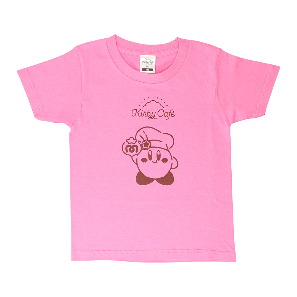 キッズTシャツ カービィとマキシムトマト ピンク