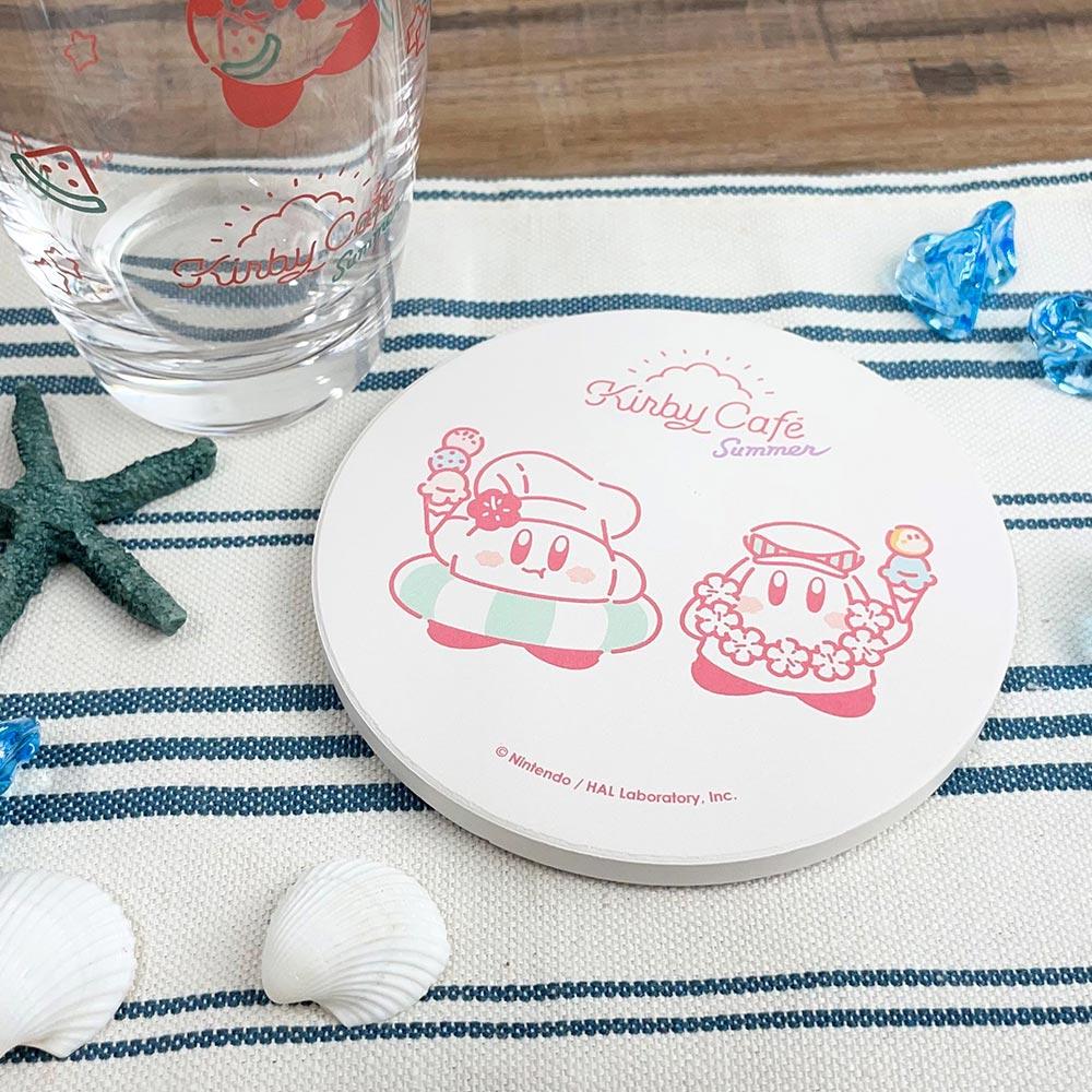 Summer 白雲石吸水コースター だいすきアイスクリーム