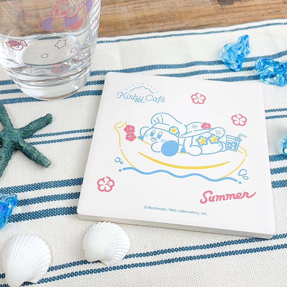 Summer 白雲石吸水コースター バナナボートでひとやすみ