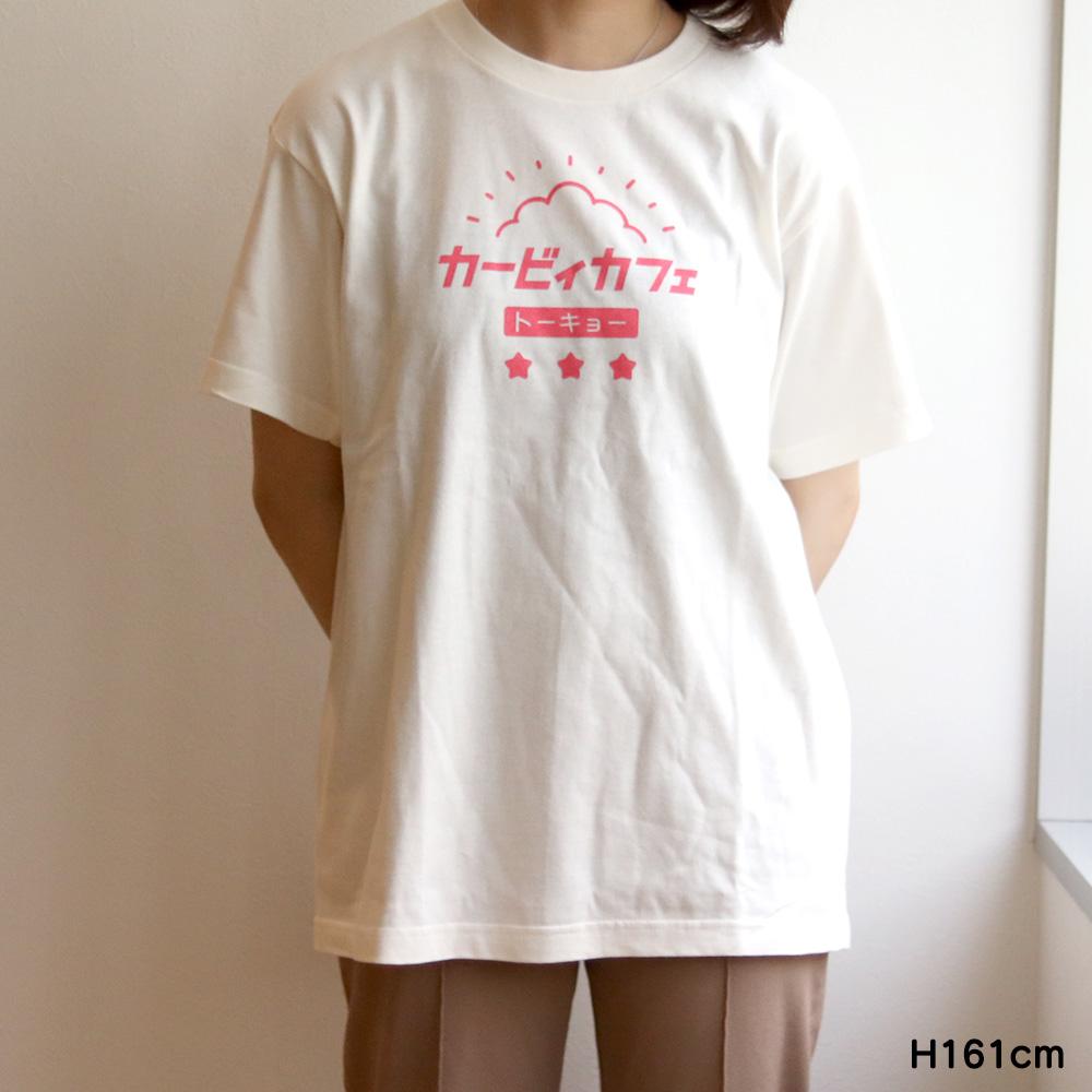 Tシャツ トーキョーカタカナロゴ アイボリー Mサイズ