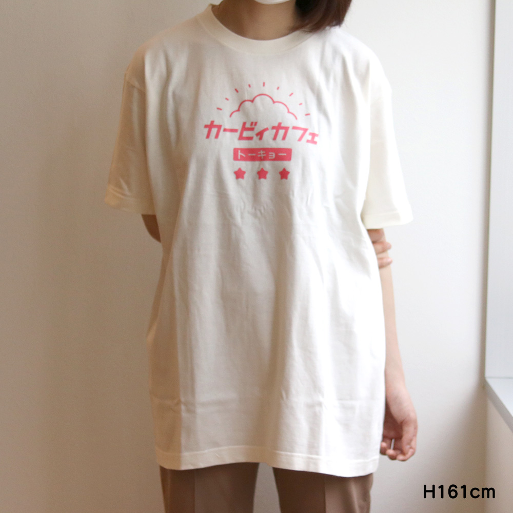 Tシャツ トーキョーカタカナロゴ アイボリー Lサイズ