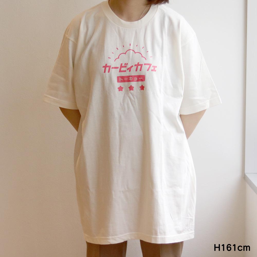 Tシャツ トーキョーカタカナロゴ アイボリー XLサイズ