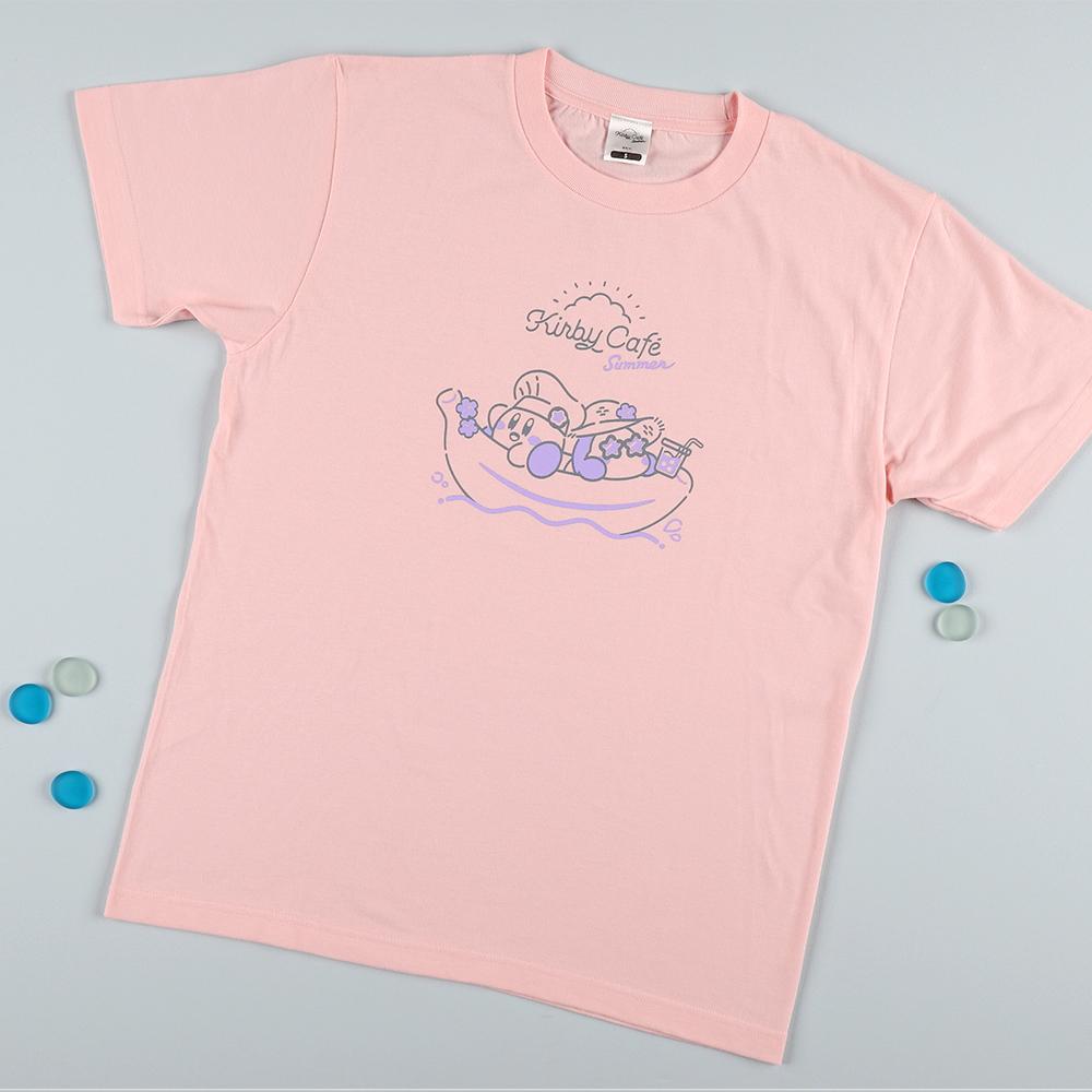 Summer Tシャツ バナナボートでひとやすみ ライトピンク Lサイズ